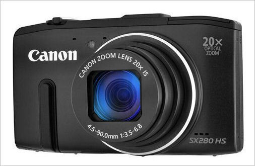 Canon PowerShot SX280 HS 12.1 MP CMOS Digital Camera with ... |Canon Powershot Sx280
